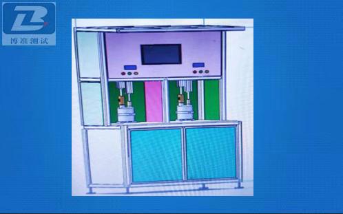 PLC控制雙工位小鍋爐氣密性測試臺